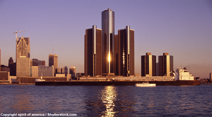 Gorgeous photographs show contrasting views of Detroit's present—and future
