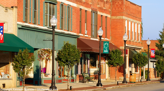 Small town economic development more difficult?