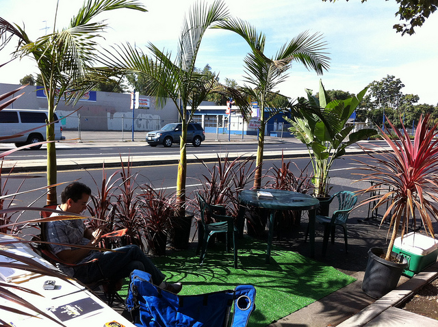 Park(ing) Day creates tiny green spaces throughout the asphalt jungle