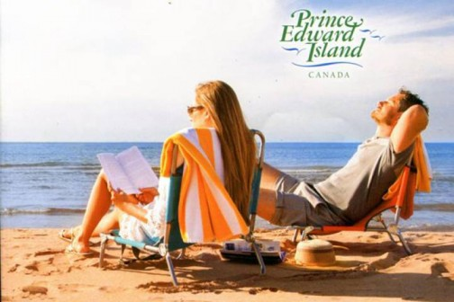 Original Prince Edward Island visitor's guide cover image