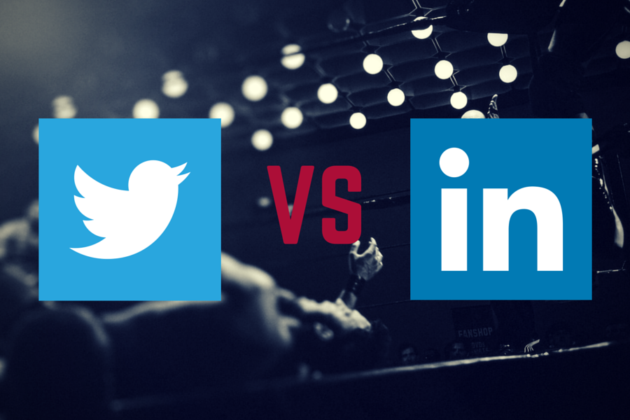 The Higher ED Blog: Twitter versus LinkedIn, which is more effective?
