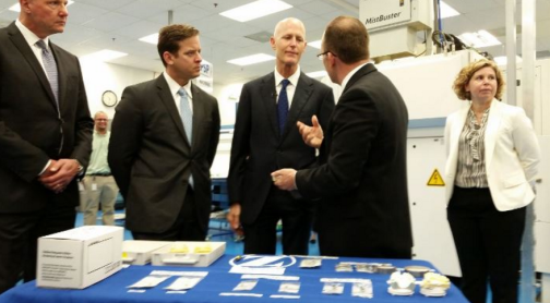Palm Beach County Country's Cheapest Place to Run Medical Device Plant, Study Finds